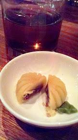 Nodoguro Pop-up Seasonal Tea Service: Tea snack +Tea