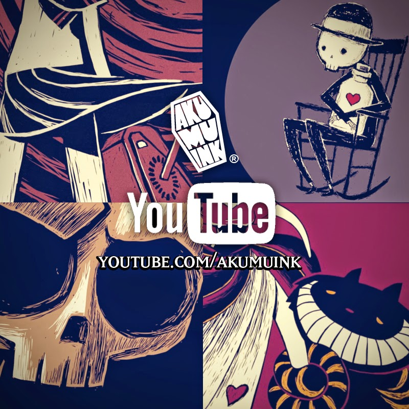akumuink youtube, skull cartoon, skeleton cartoon, animated skulls, animated skeleton, similar nightmare christmas, original nightmare, indie clothing youtube, black tshirt youtube, skull tshirt youtube, akumuink, skull video,