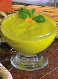 Smoothies Alpukat Campur Rambutan