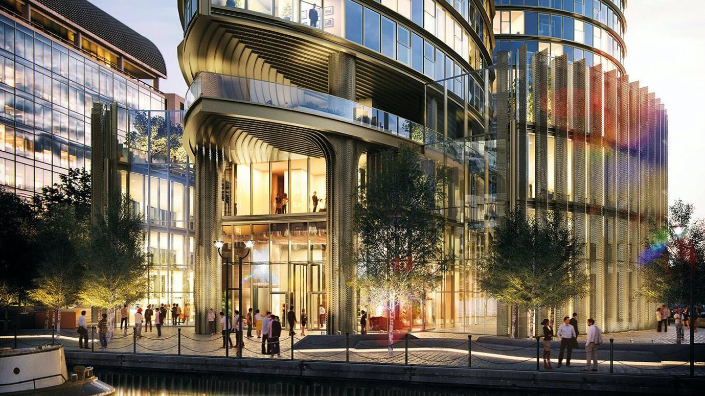 Spire London| HOK , will be Western Europe's tallest residential ...