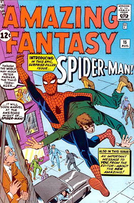 "Jack Kirby: ""Stan Lee era una peste"" Amazingfantasy15ditko"