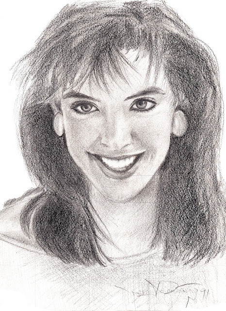 drawing of phoebe cates