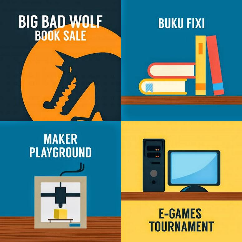 Big Bad Wolf and Buku Fixi