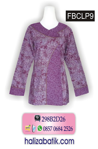 motif baju batik, baju modern, model baju batik terkini