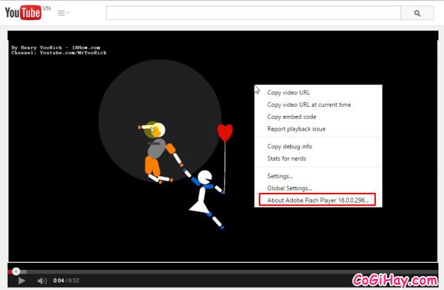 tắt html5 player cho youtube thành công