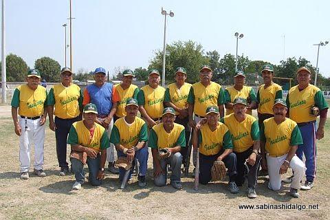 Equipo Insulinos del softbol de veteranos