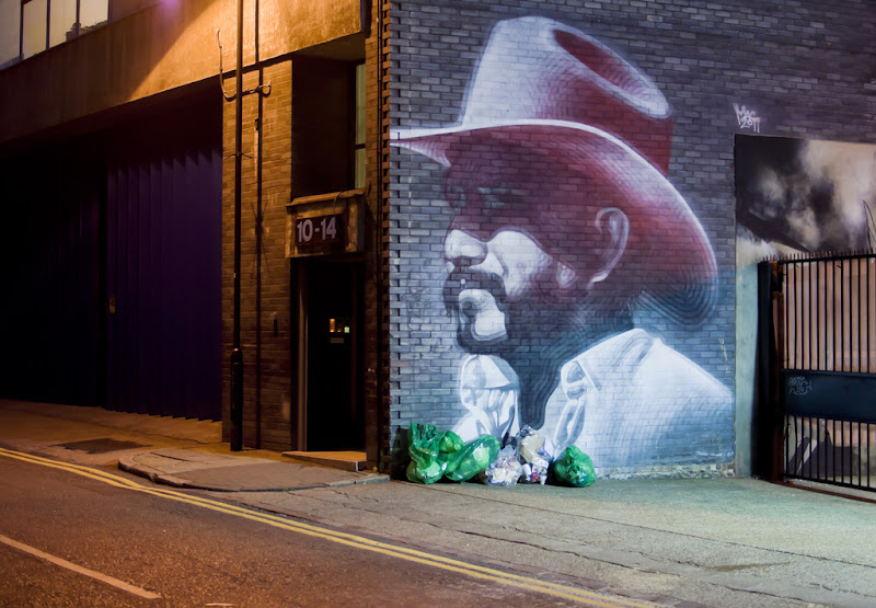 Shoreditch Cowboy by El Mac