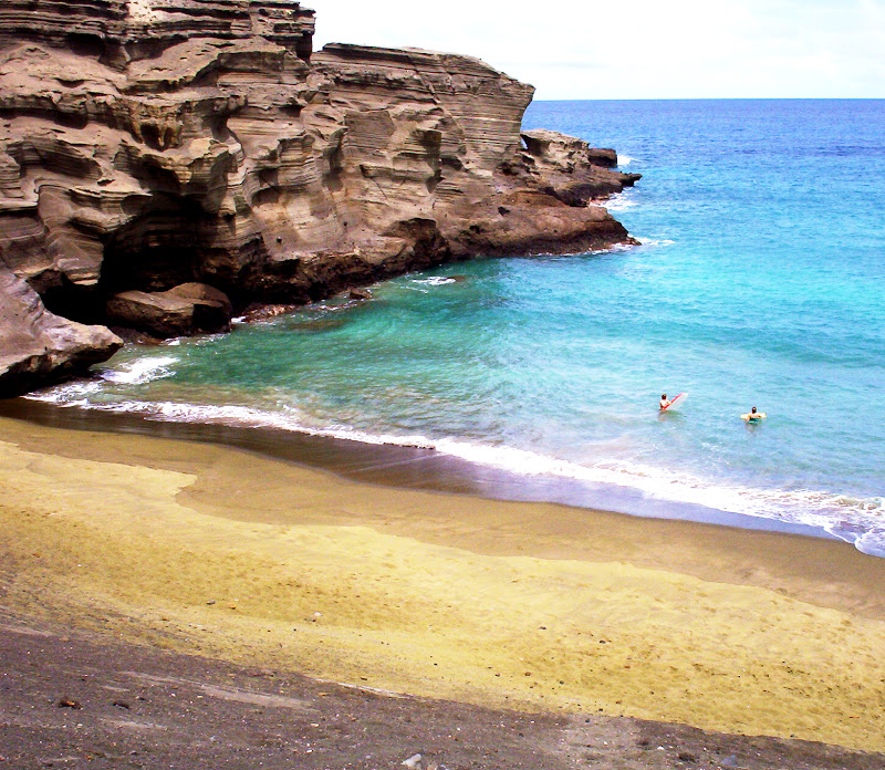 Big Island Green Sand Beach
