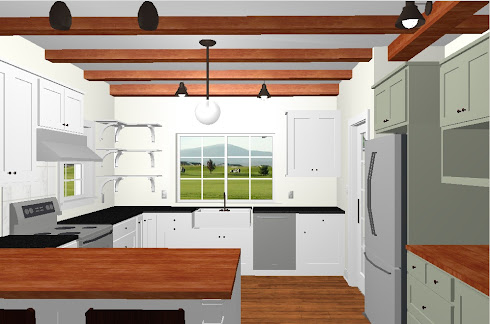 Old Gardenweb kitchen plan soapstone