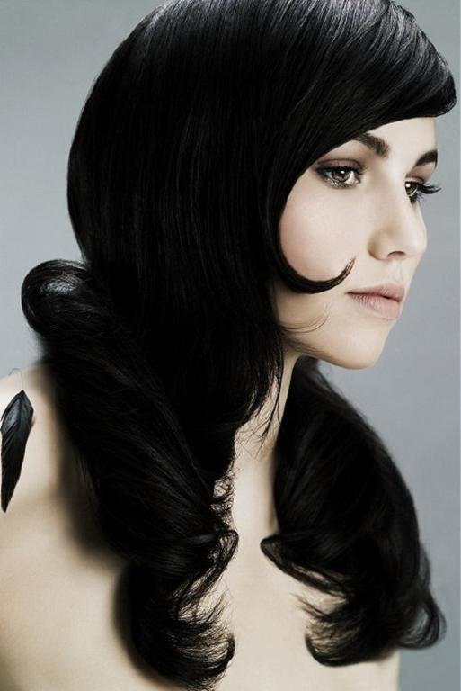 Peinados Para Cabello Largo Negro - Los mejores peinados para el pelo  oscuro Schwarzkopf 961dffcfb8b3