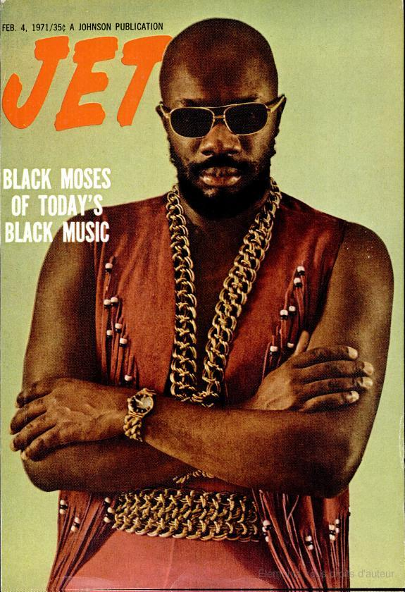 The Vintage Machine: Isaac Hayes - Jet Cover Magazine (1971)