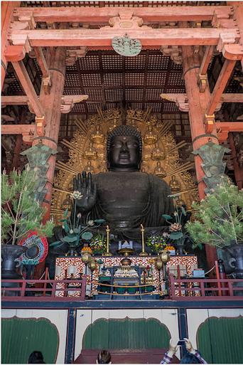 tượng đại phật ở todaiji