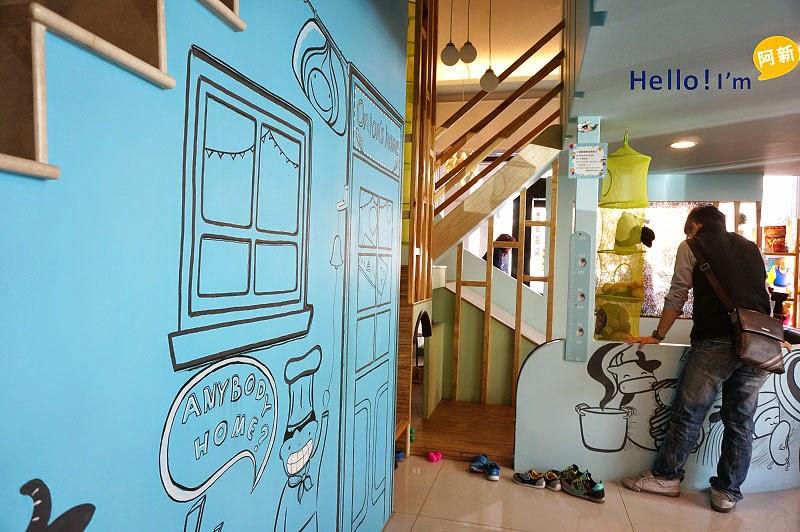 台南親子餐廳,迪利好好笑餐廳-2