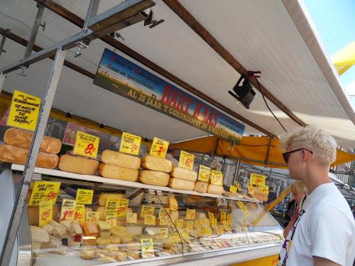 Amsterdam vendita di formaggi
