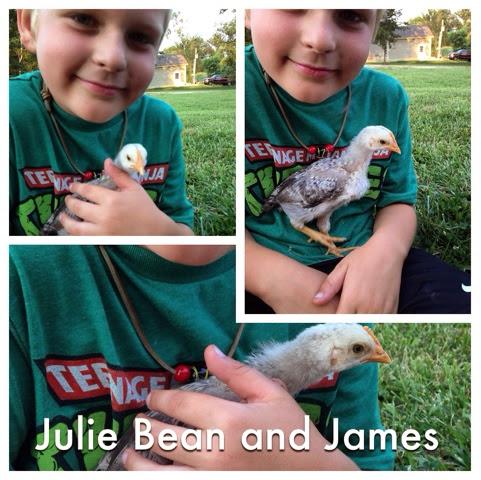 Julie Bean is getting bigger