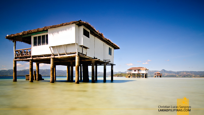 The Huts at the Manjuyod Sandbar