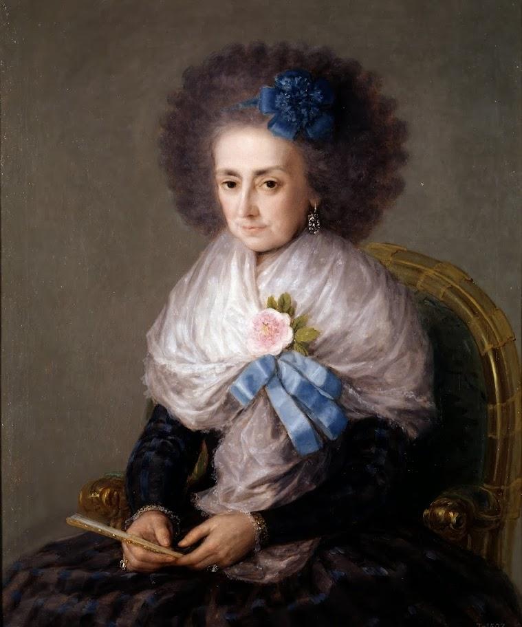 Francisco Goya - Maria Antonia Gonzaga, Marchioness Widow of Villafranca