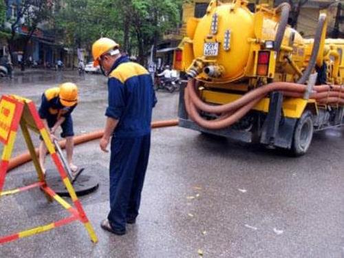 Dịch vụ hút bể phốt tại huyện Gia Lâm