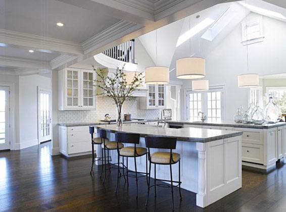 Beautiful White Kitchens the ultimate shout out to white kitchens.and a major giveaway