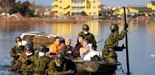 exodo por terremoto en japon