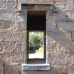 Boyd Tower window crucifix (102265)
