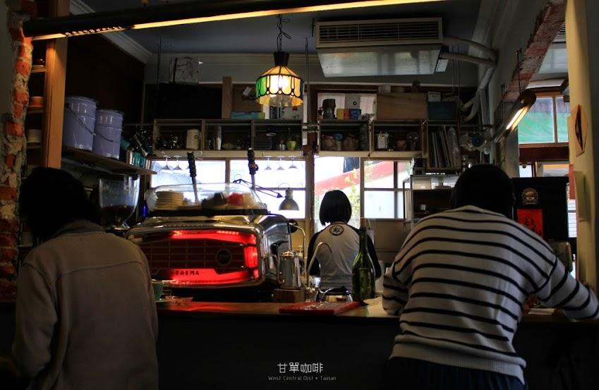 台南中西區咖啡館推薦,甘單咖啡-4