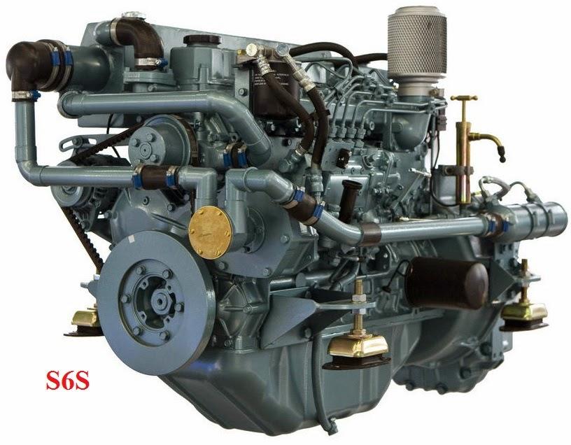 Động cơ Diesel Mitsubishi S6S