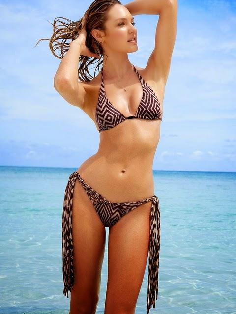 Ngắm Candice Swanepoel gợi cảm hút hồn với bikini