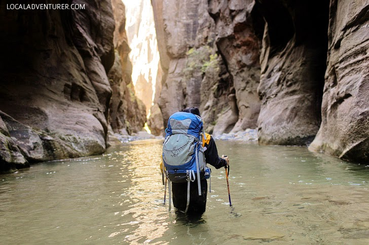 Zion Narrows Hike (15 Best Hikes in Zion National Park).