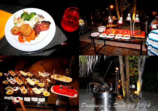 Dinner at the Pantai Grill