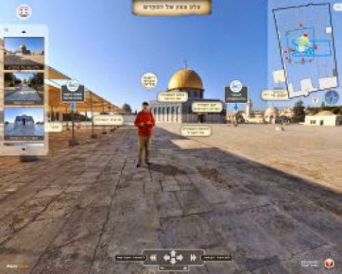 A Virtual Tour Of The Temple Mount