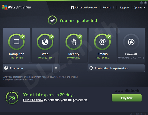 ดาวน์โหลด AVG AntiVirus FREE, Internet Security 2017 โหลดโปรแกรม AVG ล่าสุดฟรี