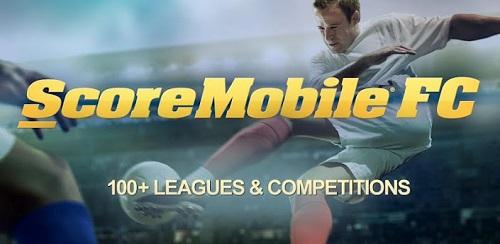 Aplicación para seguir partidos en vivo desde el celular: ScoreMobile FC