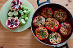 Thumbnail image for Bulgarian style stuffed peppers