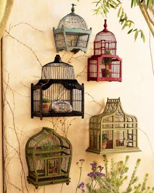 Decorando con jaulas de p jaros antiguas wacapaka - Jaulas decorativas zara home ...