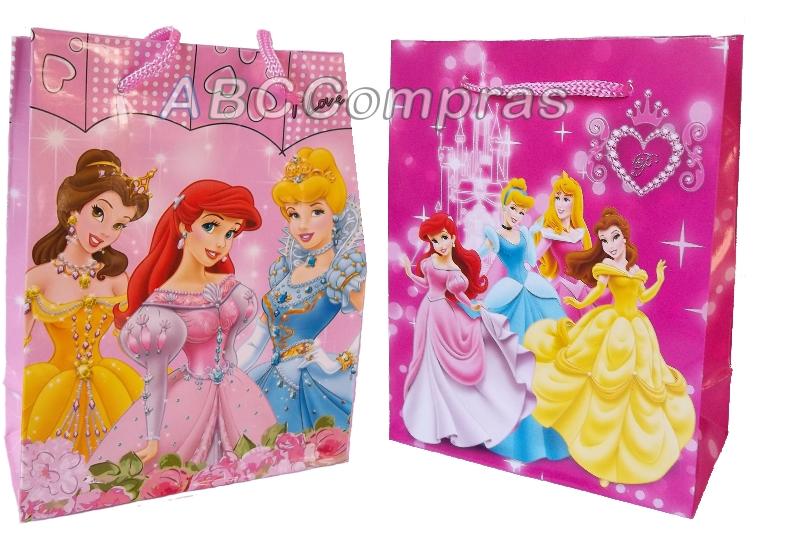 Bolsa para cotillón de Princesas