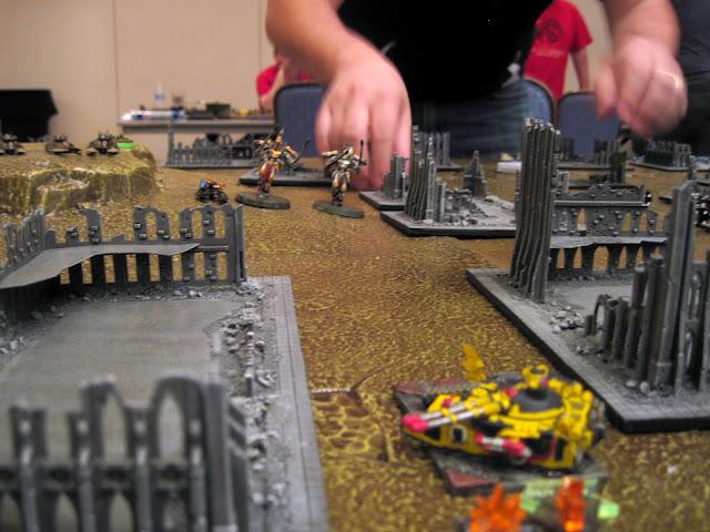 Revenants take on the Fellblade