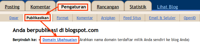 Upgrade Domain Blogspot ke [dot]TK 8