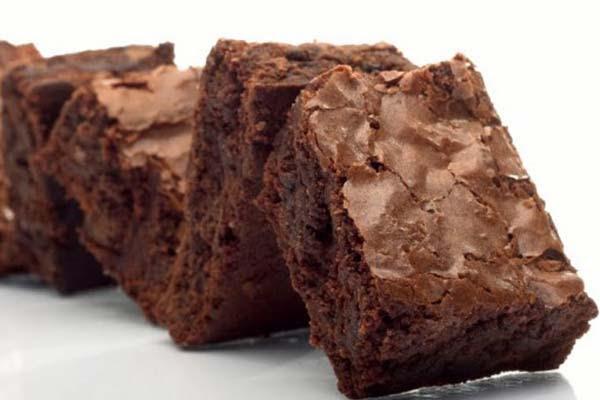 Brownies sem Ovos e sem Lactose