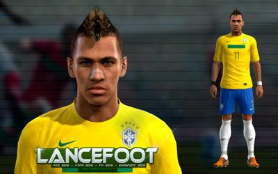PES 2012 - Face do Neymar - A Melhor