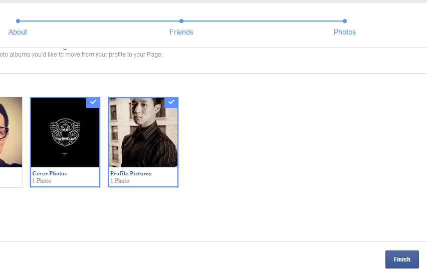 Hướng dẫn cách load tài khoản Profile Facebook cá nhân sang Fanpage