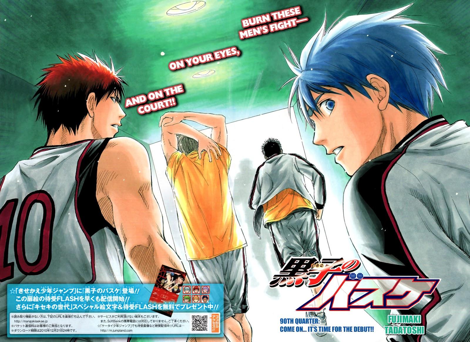 Kuroko no Basket Manga Chapter 90 - Image 05