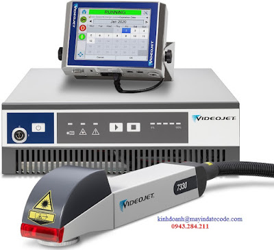 Máy in date laser Videojet 7330