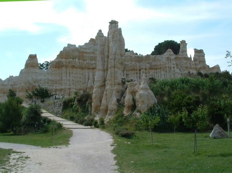 Les orgues d'Ille sur Têt dans Paysages urbains et autres