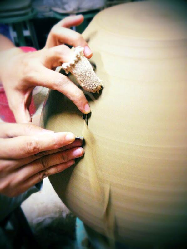 陶藝修坯技術與手勢