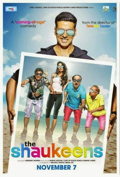 Poster Of Hindi Movie The Shaukeens (2014) Free Download Full New Hindi Movie Watch Online At Alldownloads4u.Com