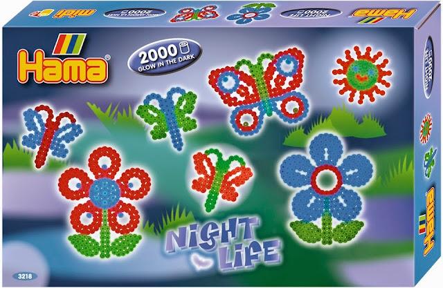 Bộ đồ chơi Xếp hình Hama Night Life Glow Beads lý thú