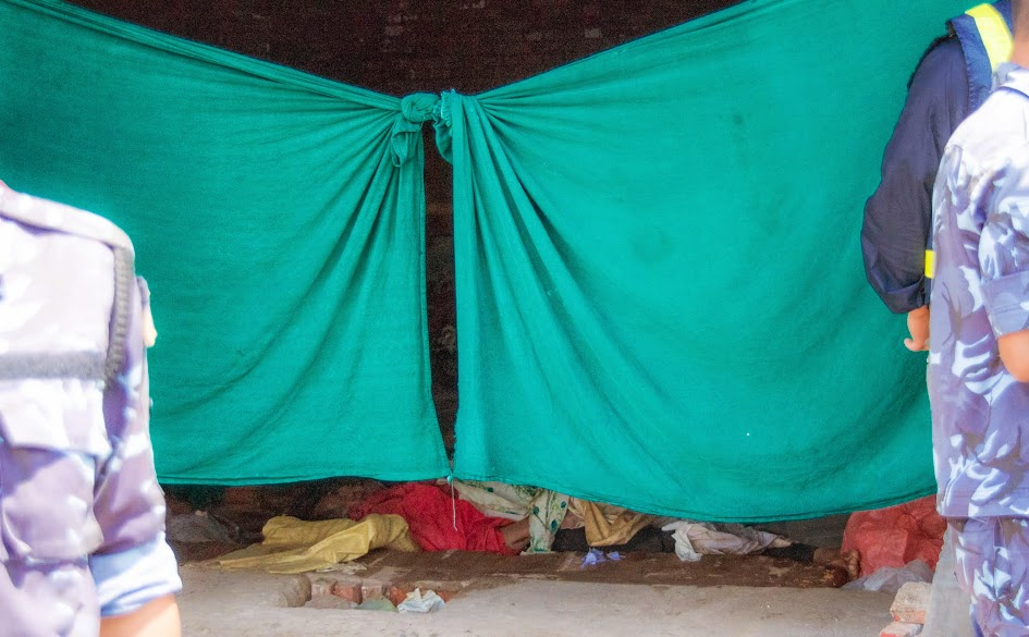 Nepal Tent City