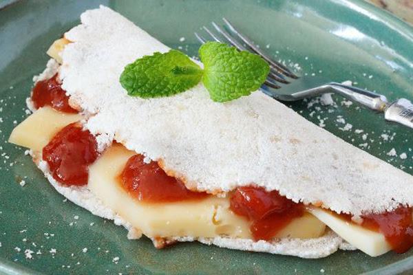 Tapioca de Goiabada com Cream Cheese