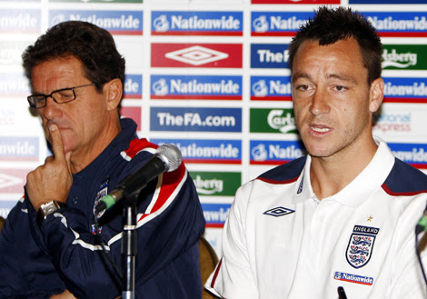 Capello with Terry